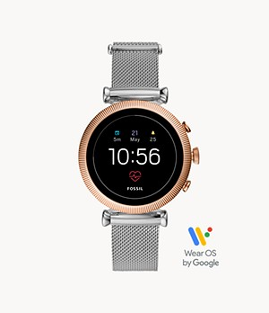 Gen 4 Smartwatch Sloan HR Stainless Steel Mesh