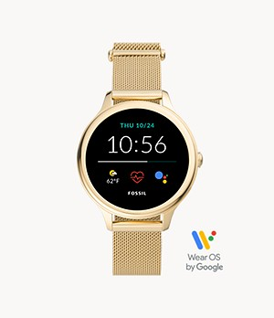 Gen 5E Smartwatch Gold-Tone Stainless Steel