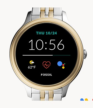 Gen 5E Smartwatch Two-Tone Stainless Steel