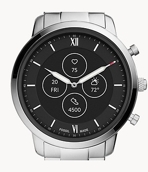 Hybrid Smartwatch HR Neutra Stainless Steel