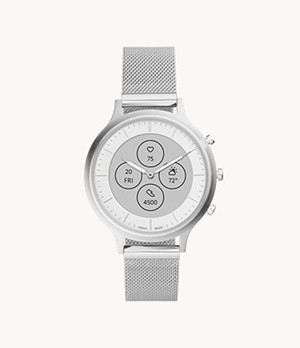 Hybrid Smartwatch HR Charter Stainless Steel