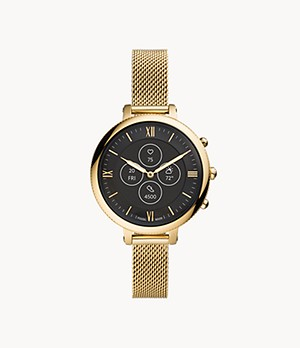 Hybrid Smartwatch HR Monroe Gold-Tone Stainless Steel
