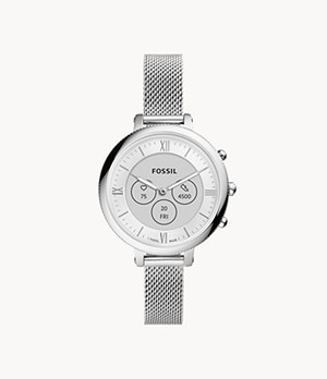 Hybrid Smartwatch HR Monroe Stainless Steel