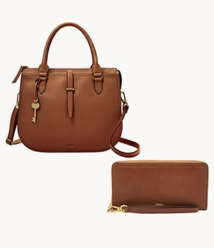 Ryder Satchel And Logan Wallet Product Set