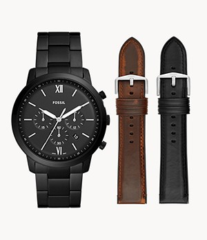 Neutra Chronograph Watch And Strap Product Set