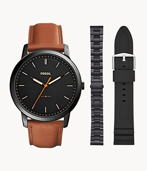 The Minimalist Three-Hand Watch And Strap Product Set