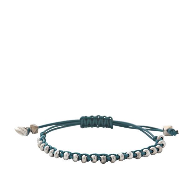 Tiny Round Turquoise Bracelet