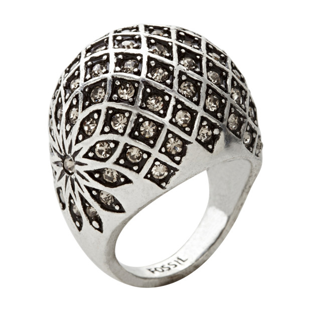 JA4828 - Deco Bling Dome Ring - O