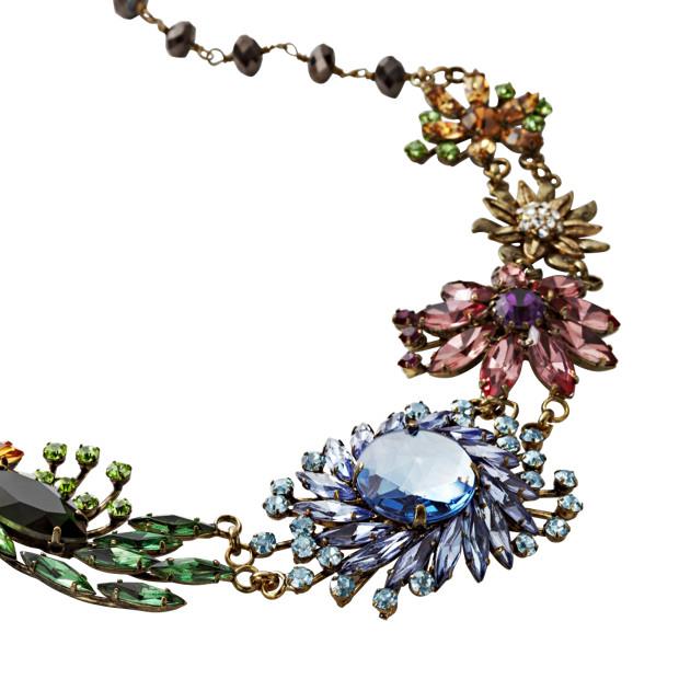 Glam Flower Necklace