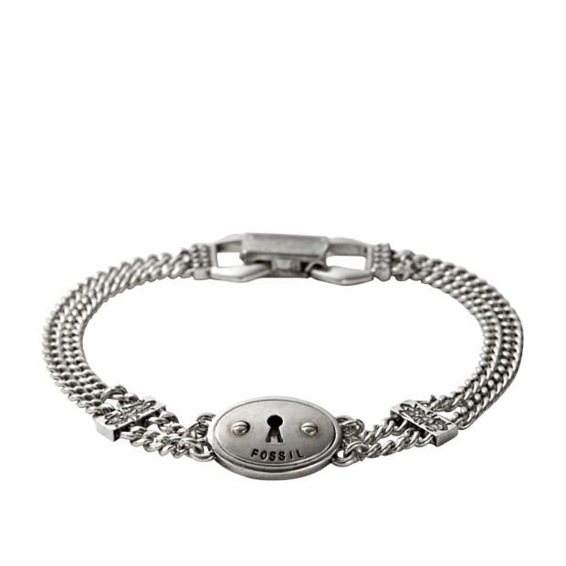 JA5020 - Oval Keyhole Bracelet