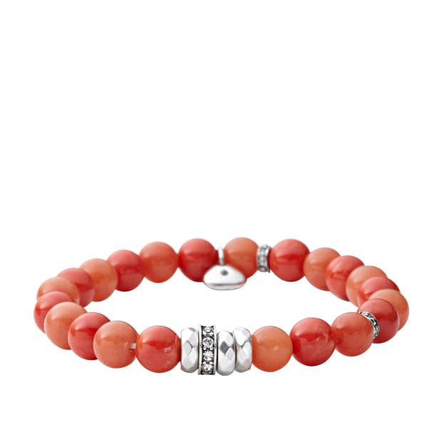 Orange Stretch Bracelet