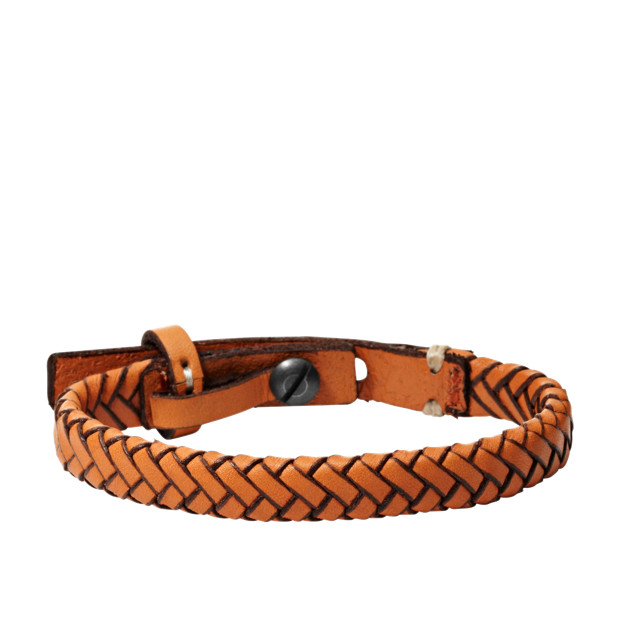 Braided Bracelet - Orange