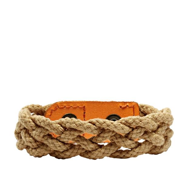 Braided Rope Bracelet - Tan