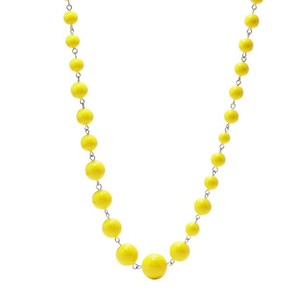 Beaded Strand - Yellow
