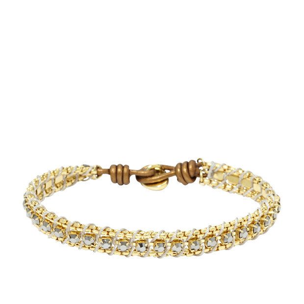 Chain Wrist Wrap- Gold