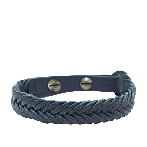 Braided Bracelet- Blue