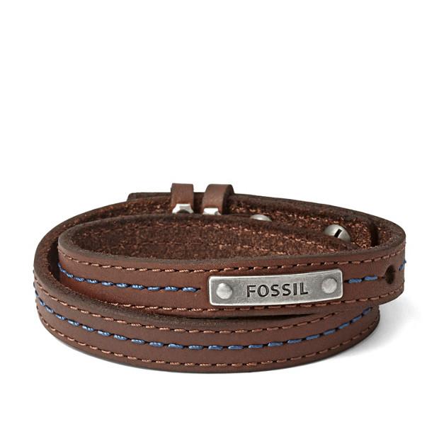 Bracelet triple tour en cuir