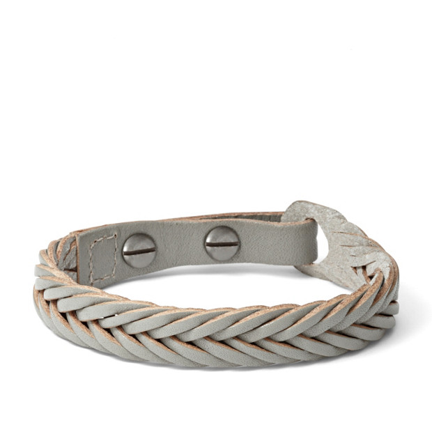 Braided Bracelet - Gray