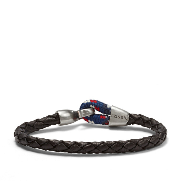 Braided Hook Bracelet - Black