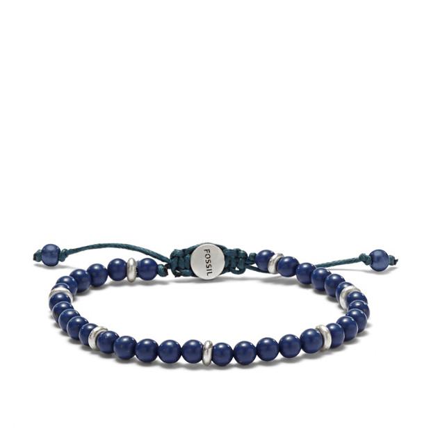 Bead Bracelet- Blue