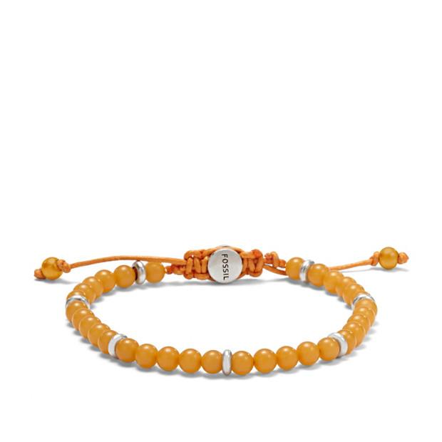 Bead Bracelet - Yellow
