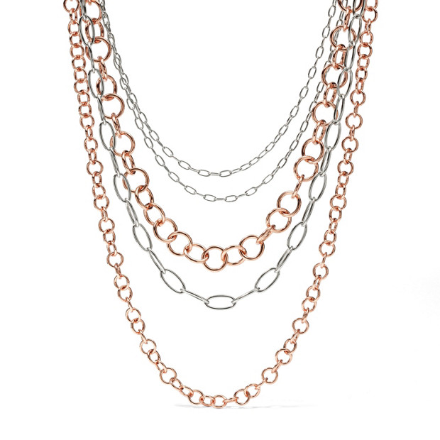 Ring Chain Necklace