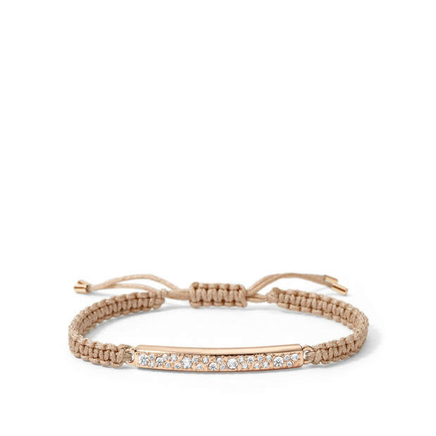 Glitz Bar Wrist Wrap - Nude