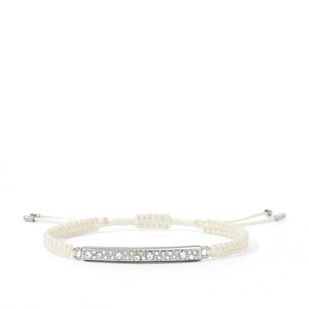 Glitz Bar Wrist Wrap - White