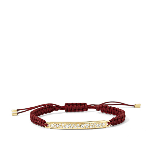 Glitz Bar Wrist Wrap - Wine