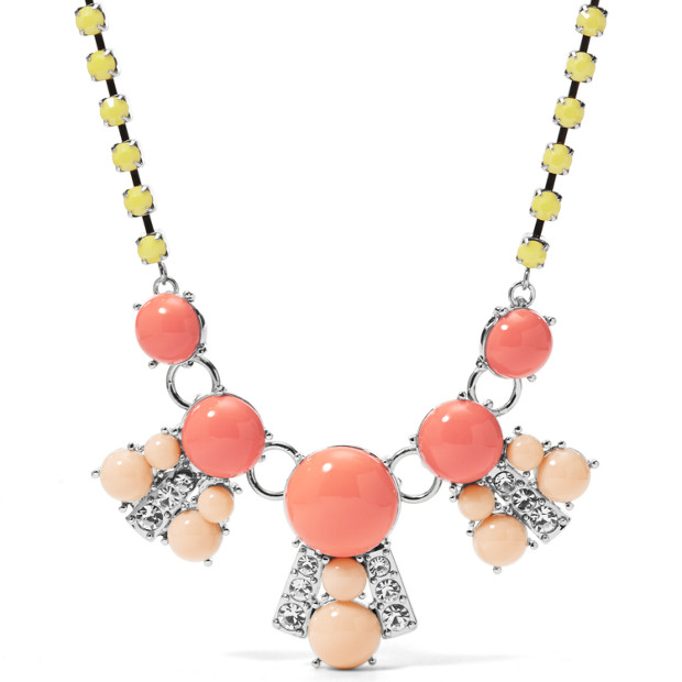 Color Cabochon Necklace