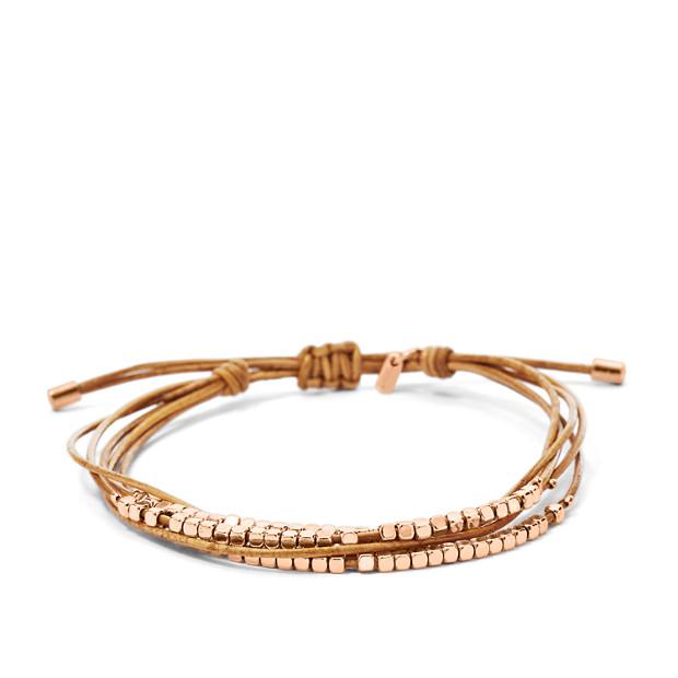 Bracelet fin perlé