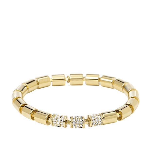 Bracelet perlé extensible