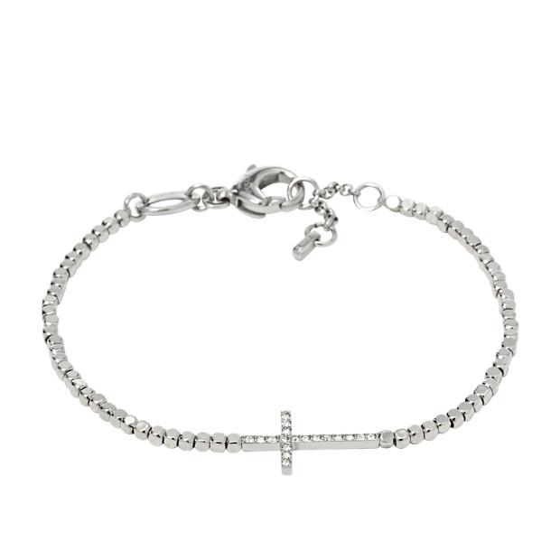 Nugget Cross Bracelet