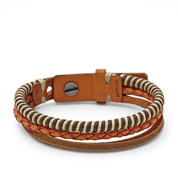 Multi Leather Bracelet