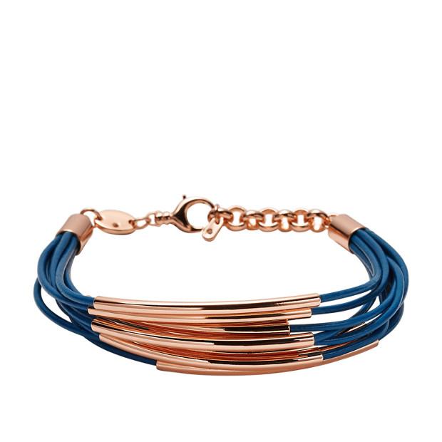 Mini Leather Corded Bracelet