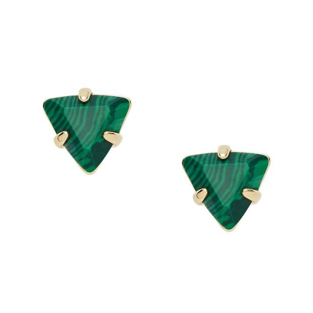 Clous d'oreilles triangles
