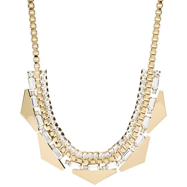 Damen Halskette - Triangle Statement