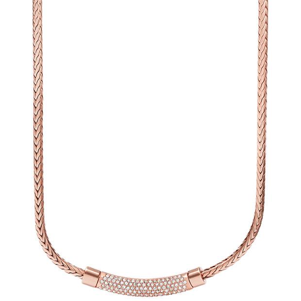 Plaque Chain Necklace