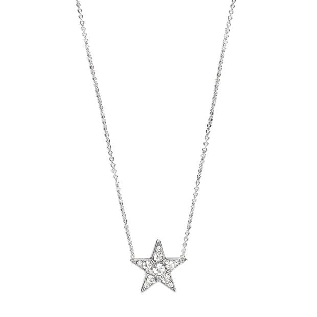 星のペンダントネックレス