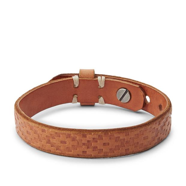 Bracelet manchette Vintage Casual Southwest brun clair