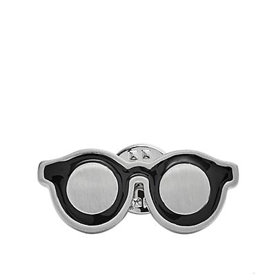 Vintage Casual Glasses Lapel Pin