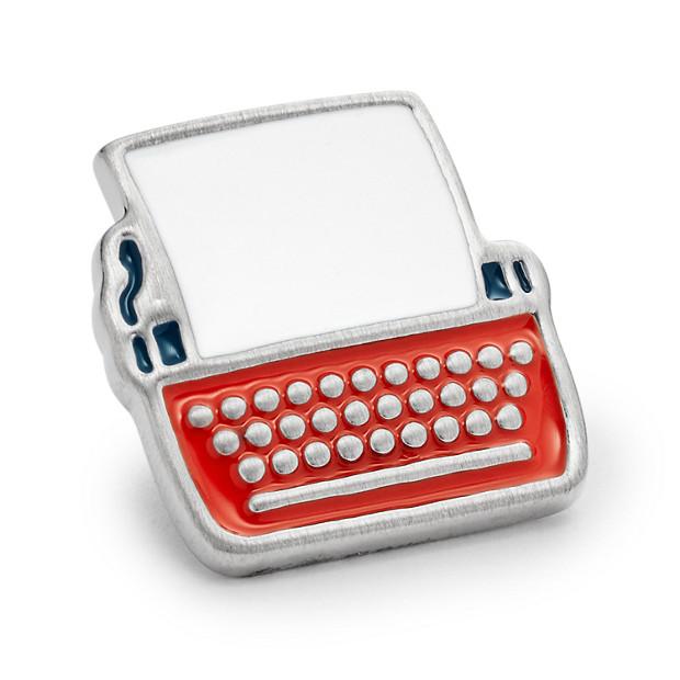 Vintage Casual Typewriter Lapel Pin