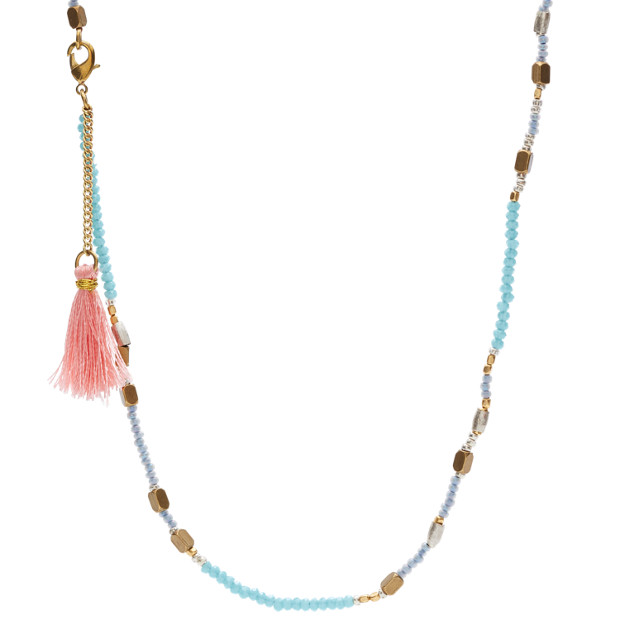 Fossil x Me to We Beaded Necklace