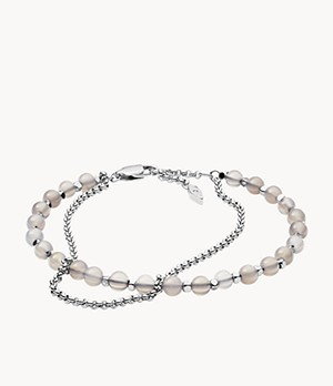 Damen Armband Semi-Precious Double-Chain