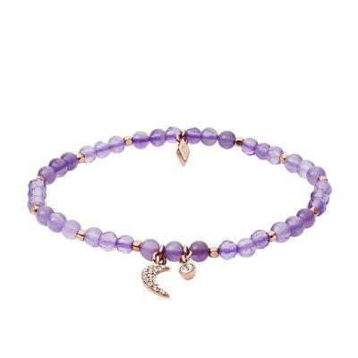 bracelet femme amethiste