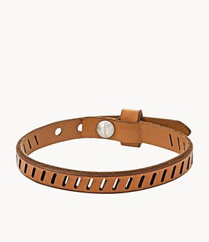 Vintage Casual Brown Leather Bracelet