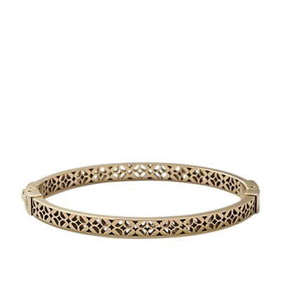 Signature Bangle - Gold-Tone