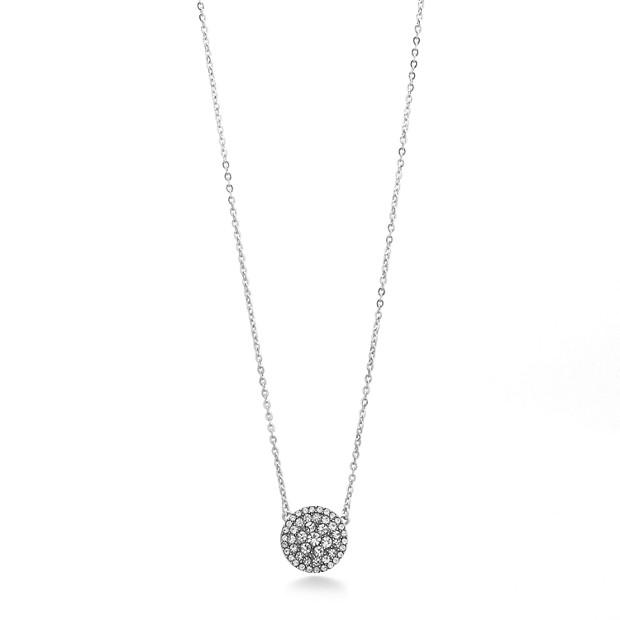 Glitz Disc Necklace