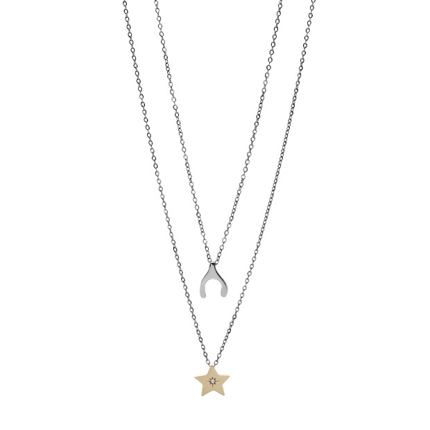 Wish Upon A Star Friendship Necklace
