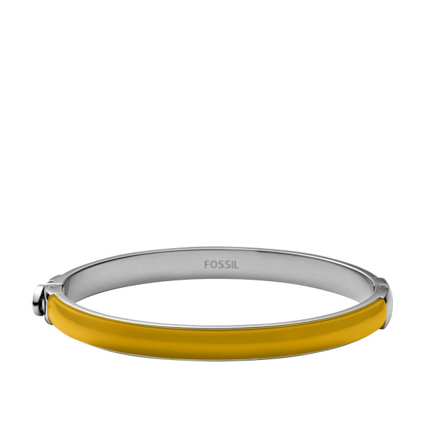 Resin Bangle – Yellow